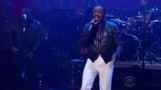 Anthony Hamilton Cool live on David Letterman 2009