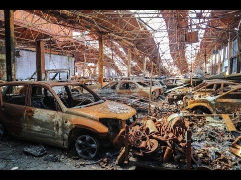 Massive Abandoned Car Graveyard In England: Hundreds Of Vehicles - URBEX UK