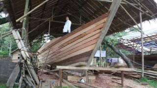 """making of balangay boat """"masawa hong butuan"""".wmv"""