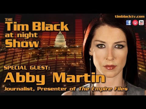 Humanitarian Crisis, Humanitarian's Needed! The Abby Martin Interview (FULL VERSION)