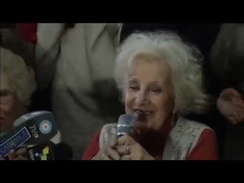 La nonna di Plaza de Mayo Estela de Carlotto ritrova il nipote