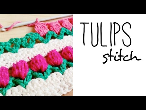 TULIP stitch crochet - so easy and lovely!