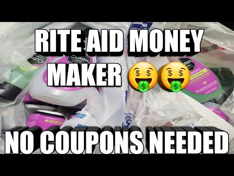 RITE AID MONEY MAKER 🤑🤑NO COUPONS NEED