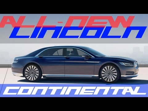 lincoln continental all new lincoln continental concept 2015 new york auto show youtube. Black Bedroom Furniture Sets. Home Design Ideas