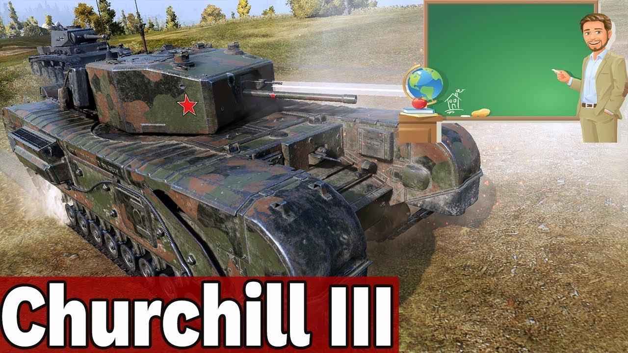 DOSKONAŁY DO SZKOLENIA ZAŁOGI – CHURCHILL III – World of Tanks