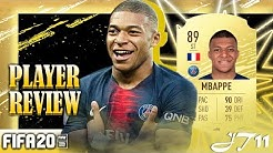 FIFA 20 MBAPPE 89 PLAYER REVIEW
