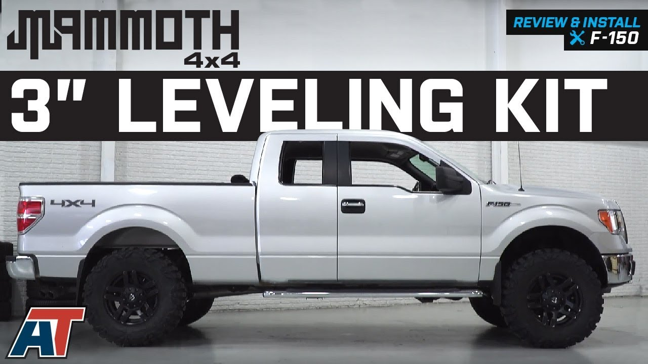 how to wire in a 7 blade ford f150 2010 2004 2013 f150 mammoth 3  leveling kit 2wd   4wd review   install  2004 2013 f150 mammoth 3  leveling kit