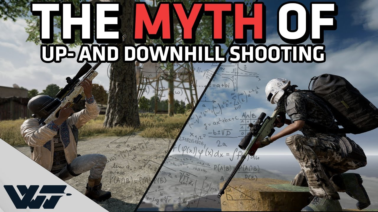 Download THE MYTH OF UP- AND DOWNHILL SHOOTING - Is PUBG advanced enough to simulate correctly?