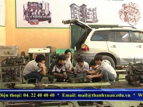 Nghề ô tô - Trung Tâm Dạy Nghề Thanh Xuân