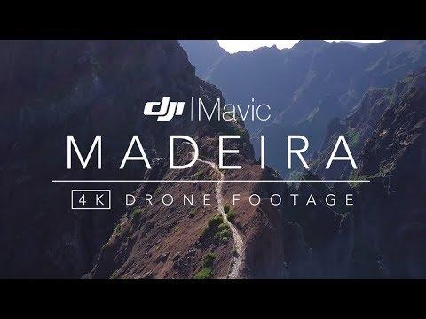 MADEIRA Drone Footage 2017 (Portugal) - DJI Mavic Pro 4K