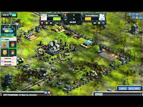war commander mega tank level 9 in live battle