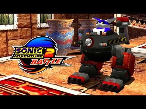 Sonic Adventure 2: Battle - Hidden Base - Big The Cat 4K 60 FPS