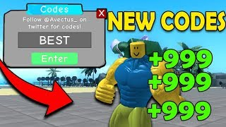 """LATEST"" WEIGHT LIFTING SIMULATOR 3 CODES ""GRATIS GEMS"" 2018 Simulatore di sollevamento pesi Roblox 3"