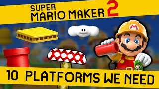 10 Platforms that NEED TO BE in Super Mario Maker 2 thumbnail