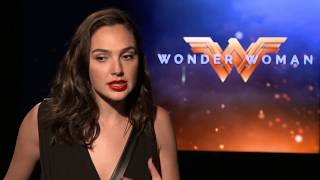 Wonder Woman: Gal Gadot Exclusive Interview