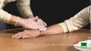 Primeros auxilios: hemorragias