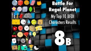 bfrp 8b my top 10 bfdi characters results