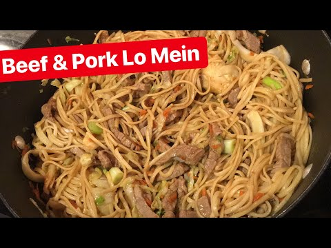How to Make: Beef and Chicken Lo Mein