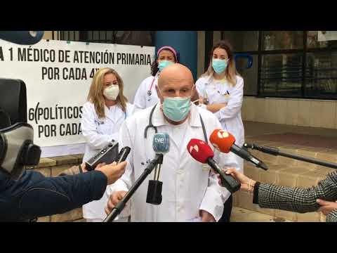 El doctorJiménez, del centro de salud Los Cubos valora la situación de la Atención Primaria