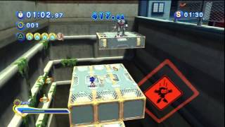 Sonic Generations - City Escape Acte 2 - Défi 1 : Cream - Coup de main