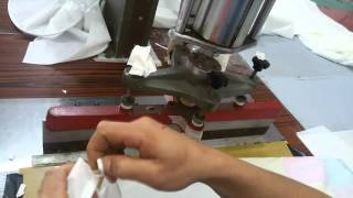 Foxygen welding 2 pieces of film how to use stretch ceiling welding machine