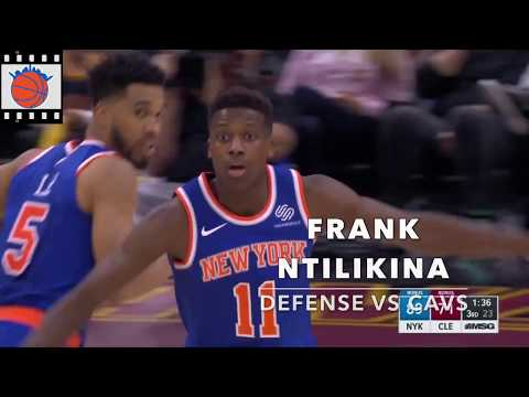 Knicks Film Study: Frank Ntilikina Defense vs Cleveland Cavaliers