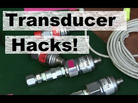 How To Use Pressure Transducers For Troubleshooting