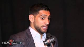 Amir Khan is serious about fighting Conor Mcgregor & doing MMA