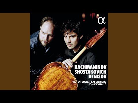 Cello Sonata in D Minor, Op. 40: III. Largo