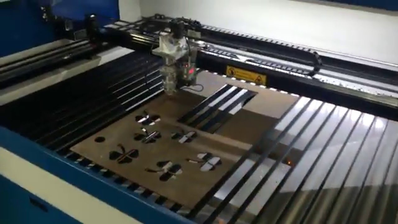 260w Laser Cutting Machine For Metal Acctek Metal Laser