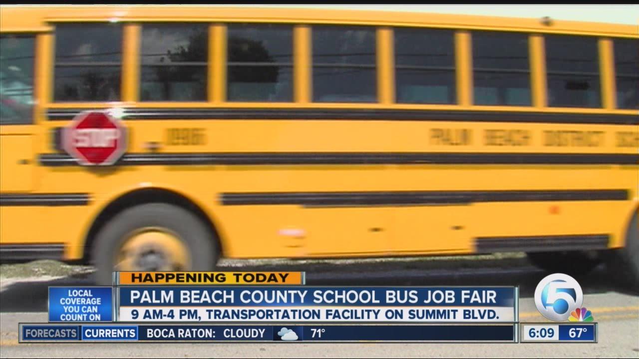 Palm Beach County School District Job Fair