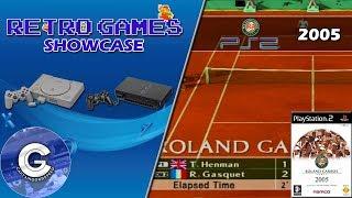 Retro Games Showcase | Roland Garros 2005 Paris: Powered By Smash Court Tennis | Playstation 2
