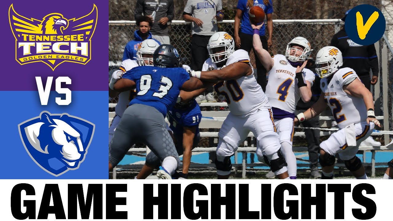 Tennessee Tech vs Eastern Illinois Highlights | FCS 2021 Spring College Football Highlights