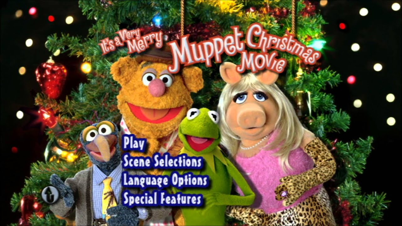 A Very Merry Muppet Christmas Movie UK DVD Menu [Region 2] - YouTube