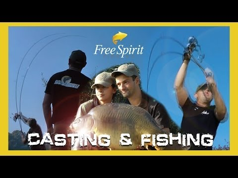 CARP FISHING - FREE SPIRIT CASTING AND FISHING (Feature Length Video!)