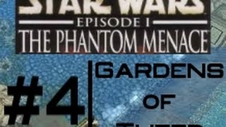 The Phantom Menace PC Walkthrough - Level 4: Gardens of Theed