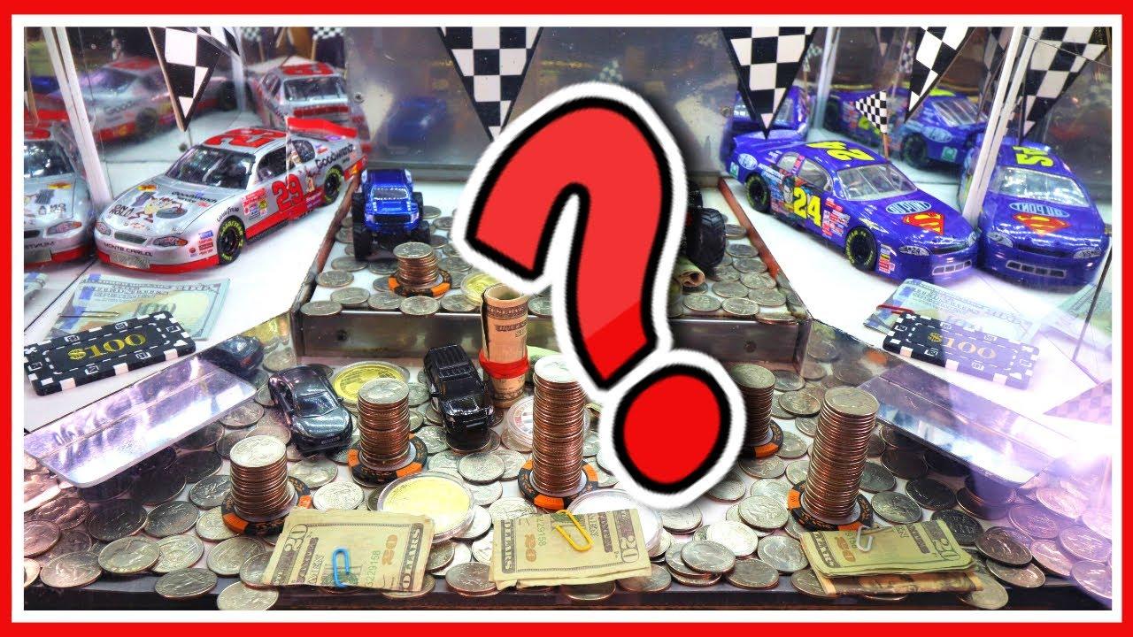 """BRAND NEW"" HIGH LIMIT COIN PUSHER- $1500 JACKPOT"