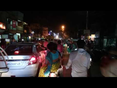 jhargram traffic jam || at night ||