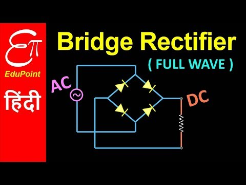 🔴 Full Wave BRIDGE Rectifier | in HINDI