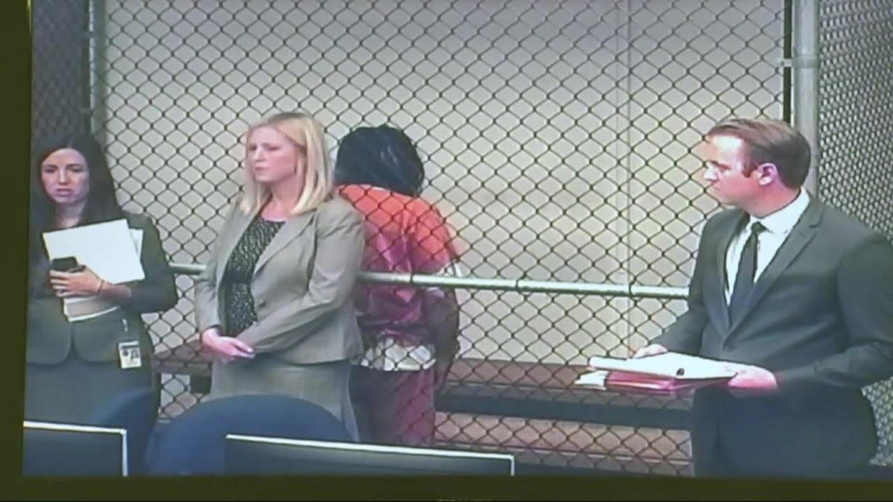 RAW: Holy Fire Suspect Initially Refuses To Show Face In Court