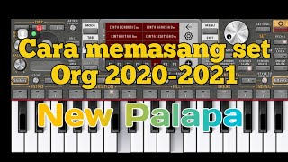 Cara memasang set org 2020-2021