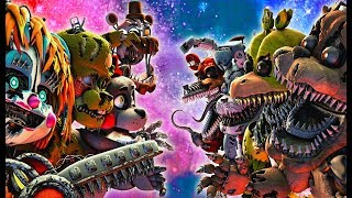 Top 10 Five Nights at Freddy's FIGHT Animations 2019 (FNAF VS Animation)