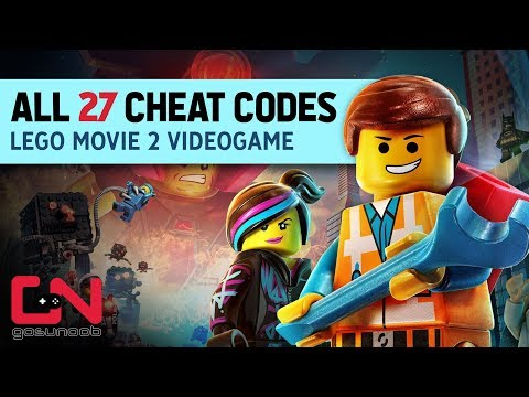 The Lego Movie  VideoGame All  CHEAT CODES - Unlock free Super Item, Mega Relics and Studs