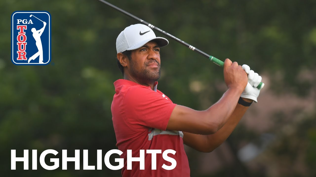 Tony Finau's 66 gives him a tie for fourth place in the PGA ...