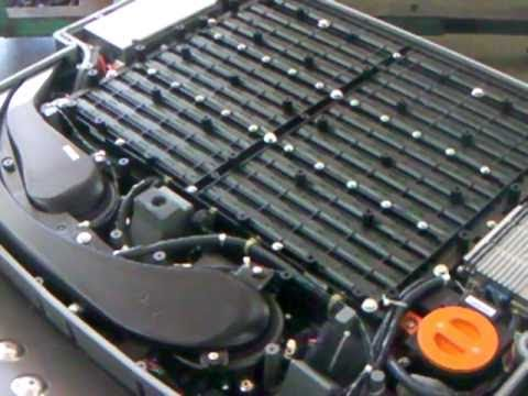 Ford Escape Hybrid High Voltage Battery Internals 1