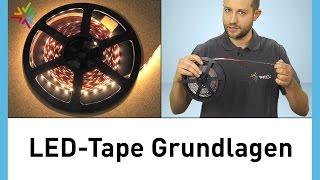 LED-Tape / LED -Stripes Kaufberatung: Gutes LED-Tape erkennen [watt24-Video Nr.156]