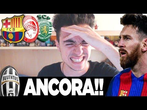 EBBASTA!!!!! JUVE BARCELLONA | SORTEGGI GIRONI CHAMPIONS LEAGUE