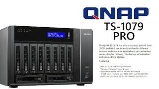 case overview the qnap ts 1079 pro e10g 10 bay nas iscsi ip san solution