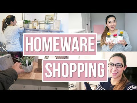 HOMEWARE HAUL 2018 | NEXT HOME HAUL + DECORATE WITH ME | MOVING VLOG 3 | Ysis Lorenna
