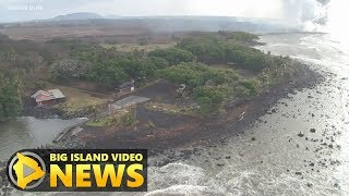 DLNR: Lava Could Take Pohoiki In Coming Days (July 17, 2018)